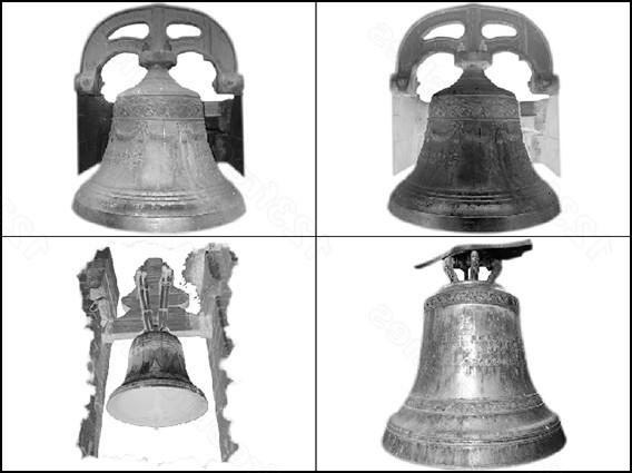 колокола, церковь, религия, звон, кисти для фотошоп