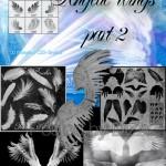Кисти для фотошопа крылья и перья