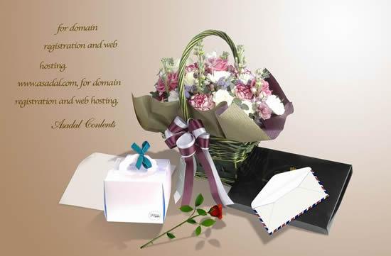 роза, конверт, корзина, цветок, 8 марта, любовь, дневник, открытка,psd исходник, День святого Валентина