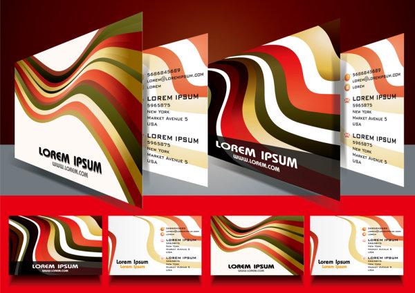 Бизнес визитки в векторе