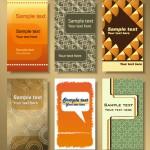 Векторные визитки, баннеры