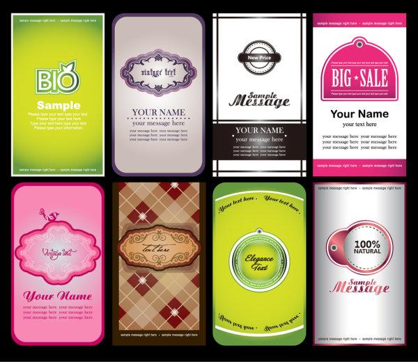 Набор бизнес визиток