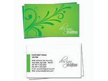 Векторные бизнес визитки