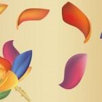 Вектор Цветок и лепестки