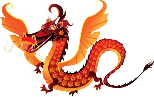 мультфильм,дракон, вектор,новый год,EPS формат,JPG формат, символ года,рисунок