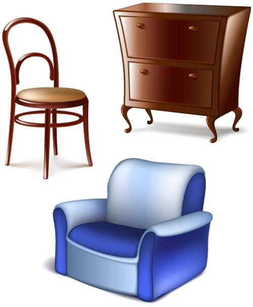 мебель, ящики, кресло, стул, шкаф, комод,EPS формат,JPG формат,картинка , рисунок