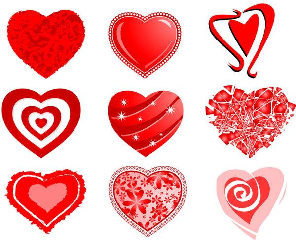 любовь, День святого Валентина, сердечки, вектор, EPS формат, JPG формат,