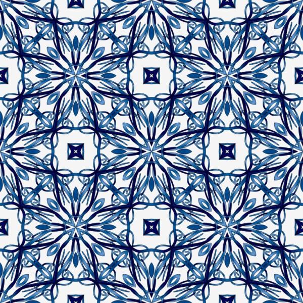 Бесшовный синий фон
