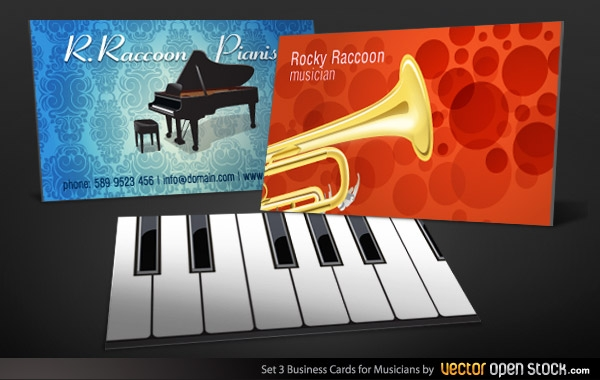 29285-Musicians-Business-Card-Set-3