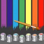 Вектор Кисти и краски