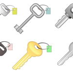 Ключи от замка в векторе.