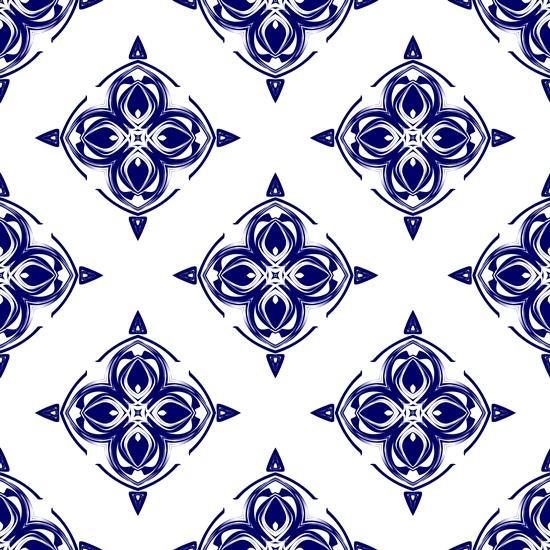 синий фон, бесшовный, сложный, красивый