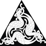 Кельтские узоры. Традиционный орнамент в векторе. Эскиз. Тату.