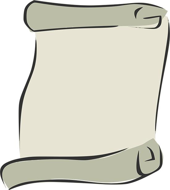 Фон в векторе: старинный пергамент.