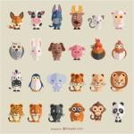 Мультяшные картинки животных.