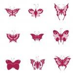 Кисть для фотошопа Бабочки
