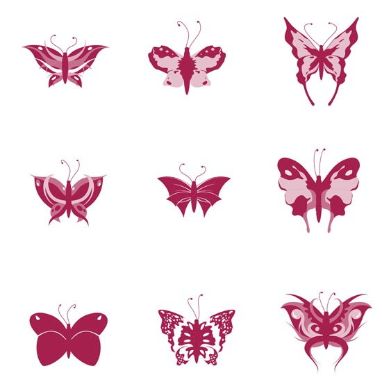 кисти для фотошопа бабочки скачать: