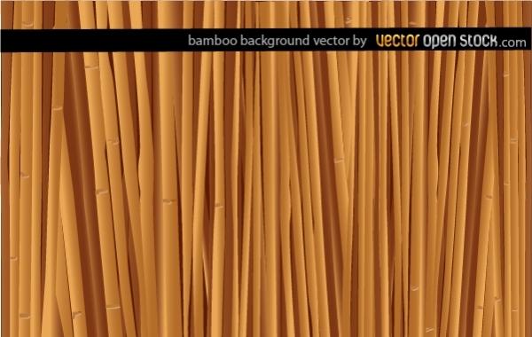 Текстура, фон бамбук в векторе