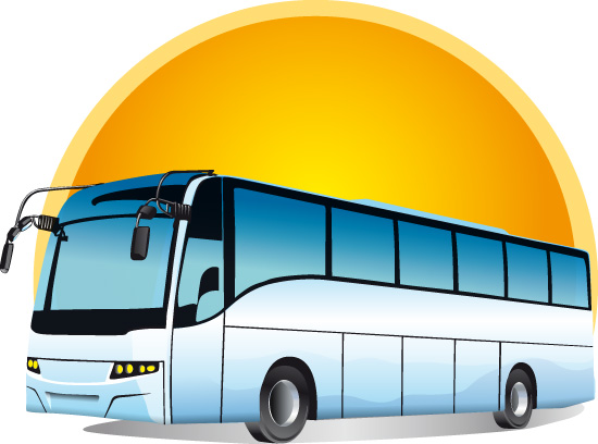 Автобус. Вектор.