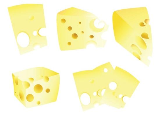 Сыр в векторе.