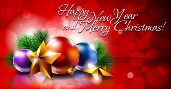 Новый год, елочные игрушки, игрушки на елку, новогодний фон, открытка, с Новым годом,  векторный фон, EPS
