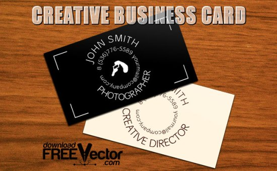 Дизайн визитки. Шаблон в векторе.