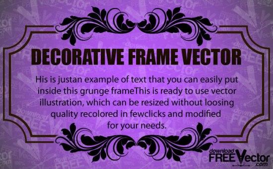 векторная рамка, орнамент, EPS