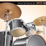 Барабаны и ударники в векторе