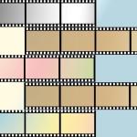 Фон кинопленка, кино, фильм. PSD исходник.