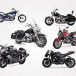 Рисунки мотоциклов в векторе