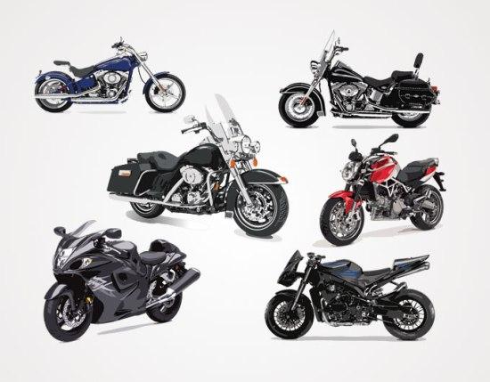транспорт, мотоциклы, рисунок, в векторе, EPS