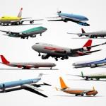 Рисунок самолета в векторе