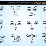 Эмоции и выражения лиц в векторе