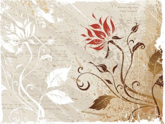 обои, цветочные фон, цветок фон ...: interesnyesaity.ru/2013/04/22/vektornyj-cvetochnyj-fon-granzh