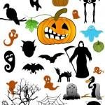 Хэллоуин изображения, фигуры, PNG, вектор