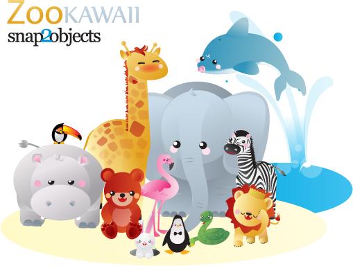 животные, зоопарк, бегемот, гиппопотам, зебра, дельфин, змея, лев, фламинго, медведь, пингвин, заяц, птицы, слон, вода, мультфильм,EPS, AI, SVG, вектор, скачать