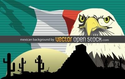 Мексика в векторе.