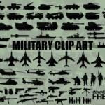 Военный клипарт в векторе. Танки, самолеты, солдаты, вертолеты