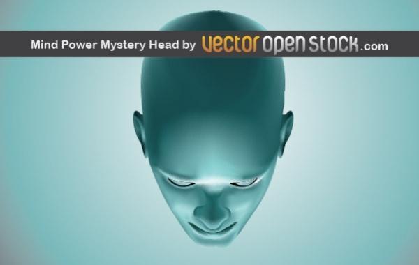 Голова в векторе.