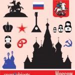 Векторный клипарт Москва, Россия