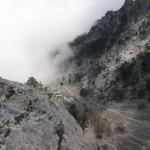 Туман в горах. Фото. Картинка высокого разрешения