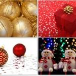 Картинки снеговиков, новогодних подарков и игрушек. Новый год, Рождество.