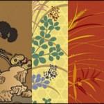 Традиционные японские рисунки в векторе