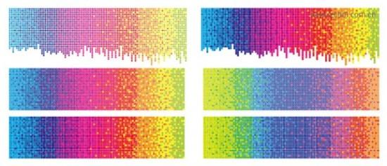 радуга, спектр, фон, фон в векторе,  AI, EPS