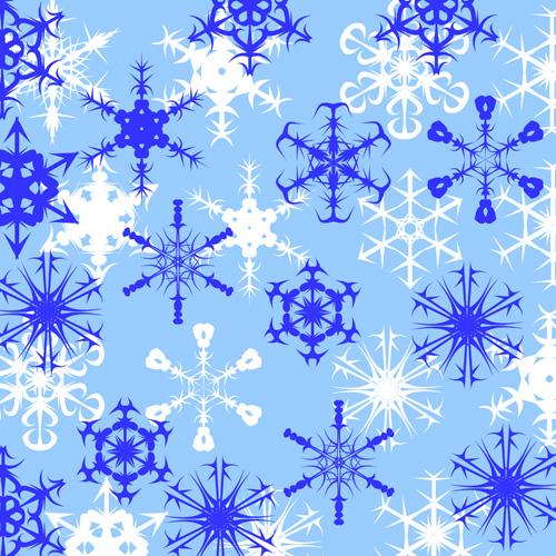 Кисть для фотошопа снежинки
