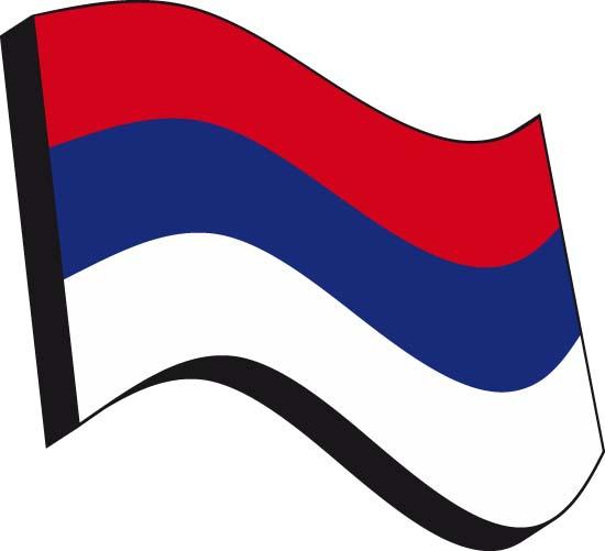 Флаг России. Векторный рисунок флага России.
