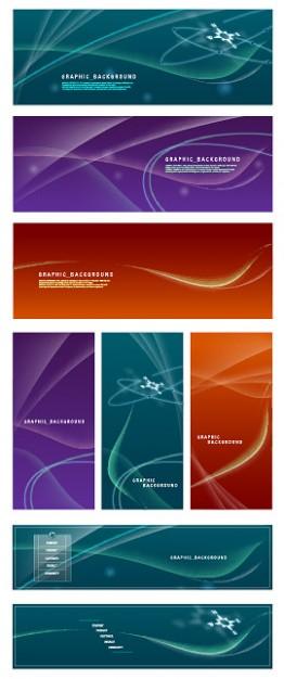визитки, фон, баннеры, абстрактный фон, векторные, AI
