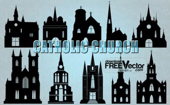 vector_catholic_church