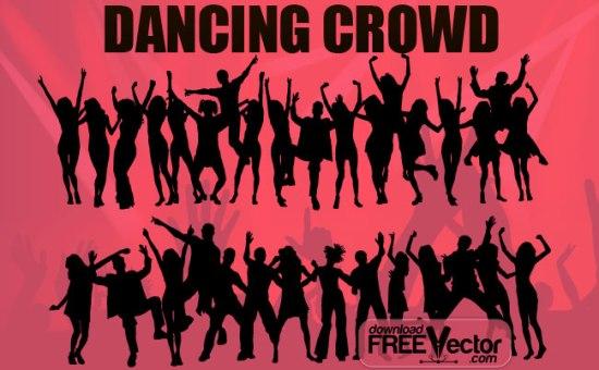 танцы, танец, танцевальные силуэты, силуэты танцоров, силуэт танцовщицы, силуэты в векторе, SVG, EPS