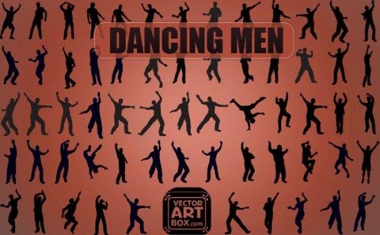 танец, силуэты танцоров, танцевальные силуэты, векторные силуэты,  SVG, EPS